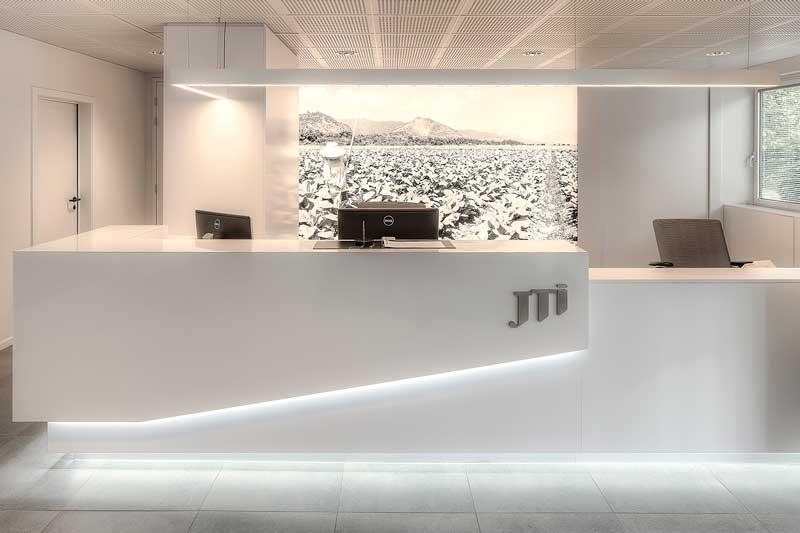 interieur kantoor JTI
