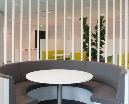 Nieuwe kantoorinrichting JTI Amstelveen