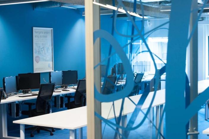 UPC nieuwe kantoorinrichting
