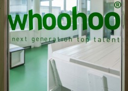 Nieuwe kantoorinrichting Whoohoo